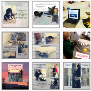Beispiel Instagram-Collage natursteinzentrum rhein main